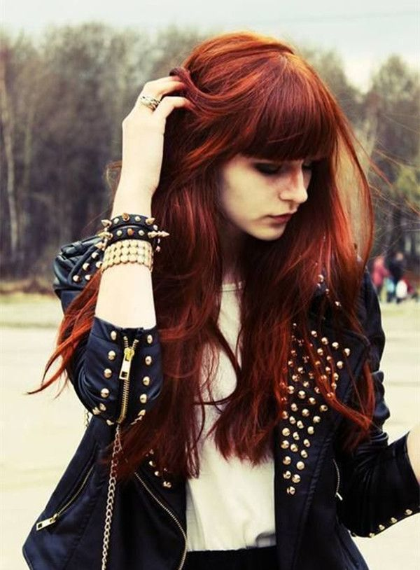 Red Hair Color 10 Shades Of Red More Choices To Dye Your