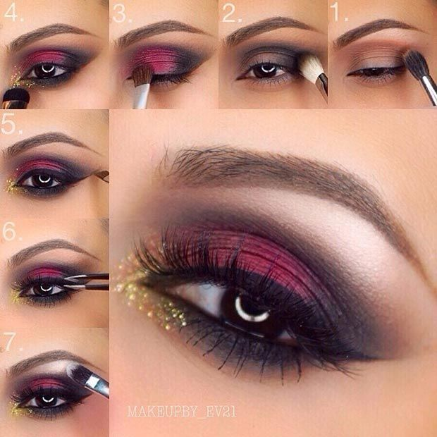 Red Hair Color 40 Eye Makeup Looks For Brown Eyes Beauty