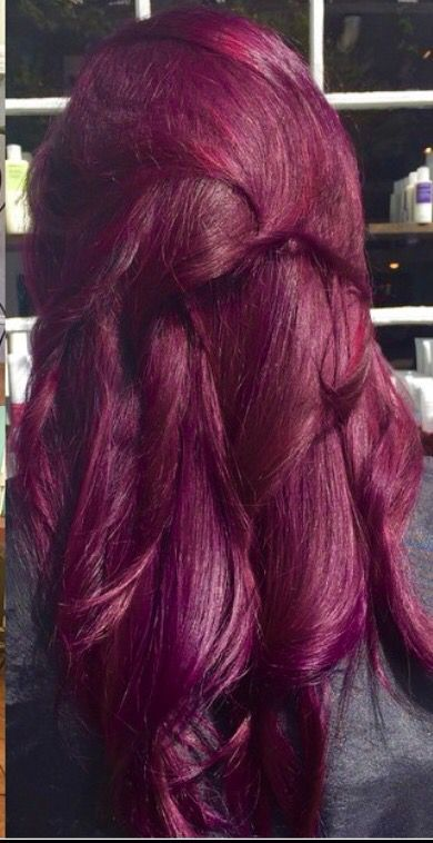 47 Burgundy Hair Colors and Styles For 2019