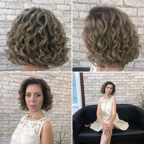 30 new short curly hairstyles for women 2019