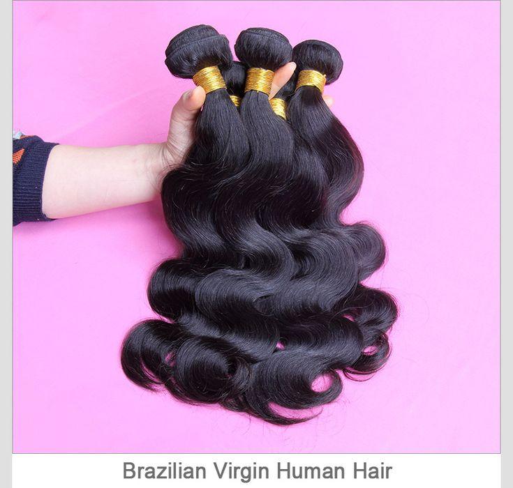 Virgin Brazilian Human Hair Weave Bundles Body Wave 3pcs/lot SVH001