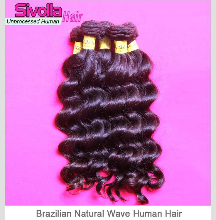 4pcs/lot Brazilian Loose Deep Wave Human Original Royal Hair Weave Bundles SVH059