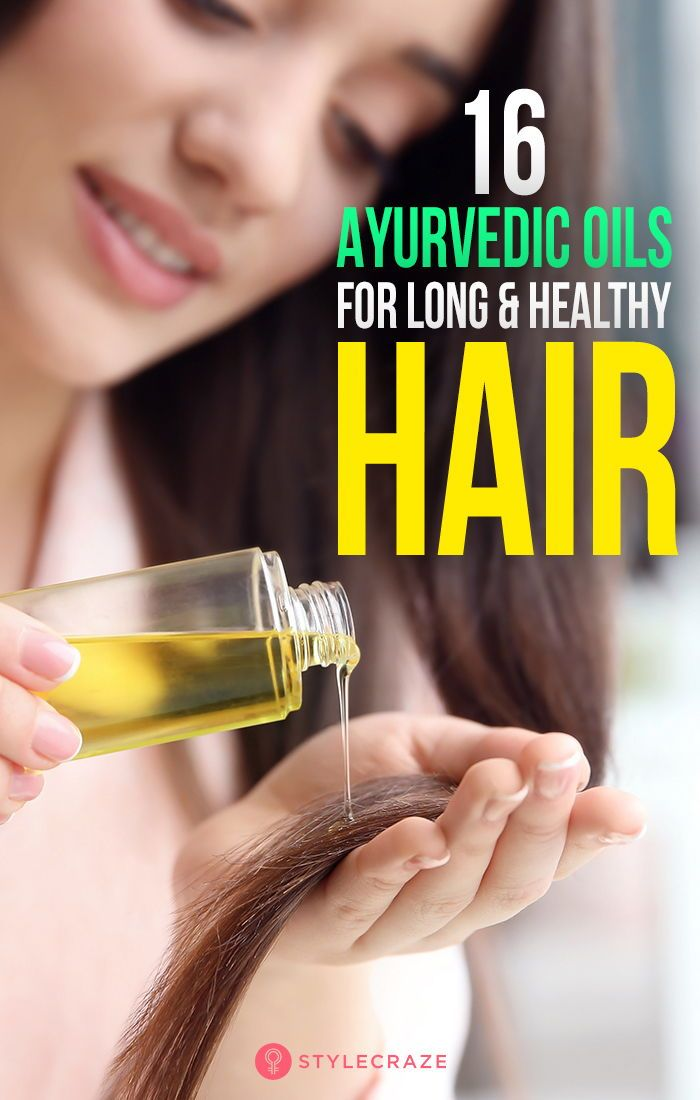 16 Best Ayurvedic Oils For Long And Healthy Hair