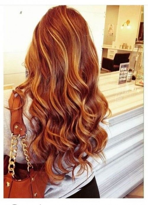 50 Red Hair Color Ideas With Highlights | Hairstyles Update