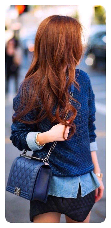 72 Impresionantes ideas de color de pelo rojo con destacados