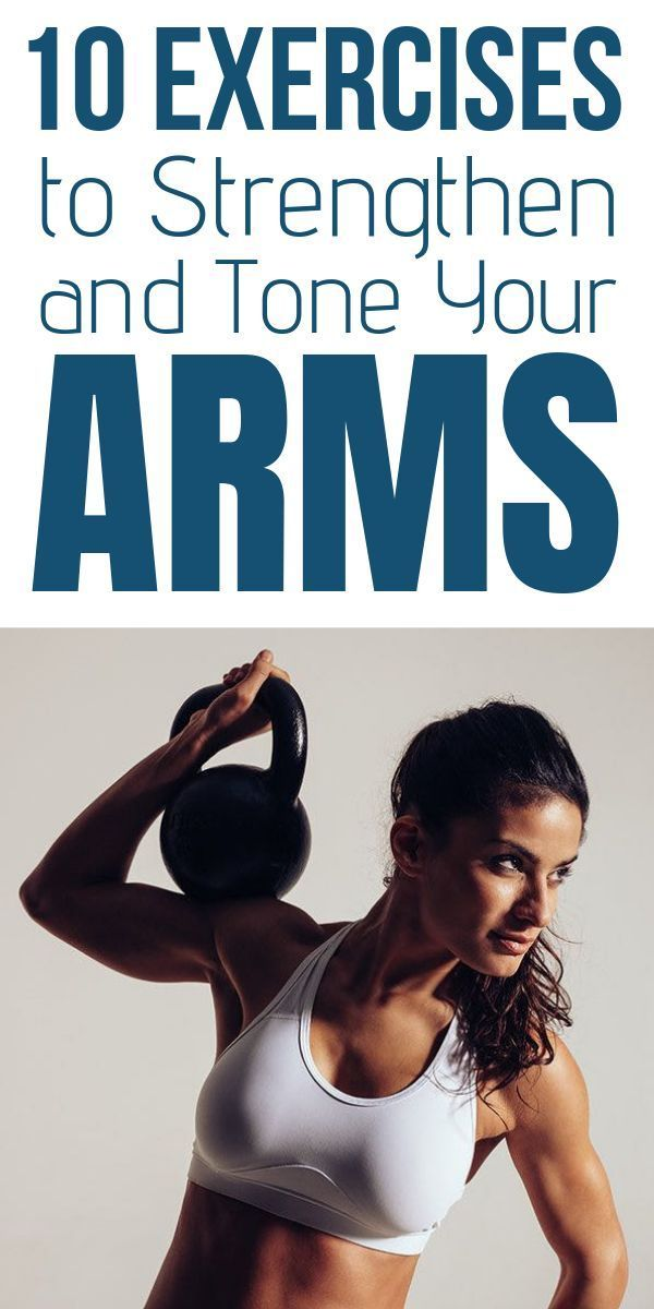 10 Exercises to Strengthen and Tone Your Arms