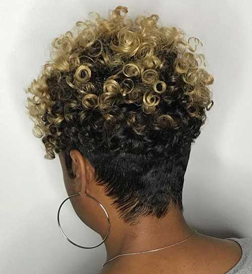 Latest Short Natural Haircuts for Black Women