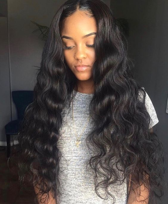 Uhair Brazilian Hair Body Wave 3 Bundles With 1Pc Lace Frontal,100% Human Hair Extensions