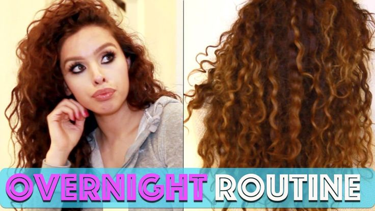 Curly Hair Routine: Overnight Edition!!