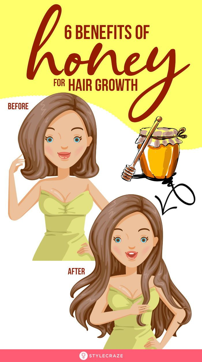 6 Amazing Benefits Of Honey For Hair Growth