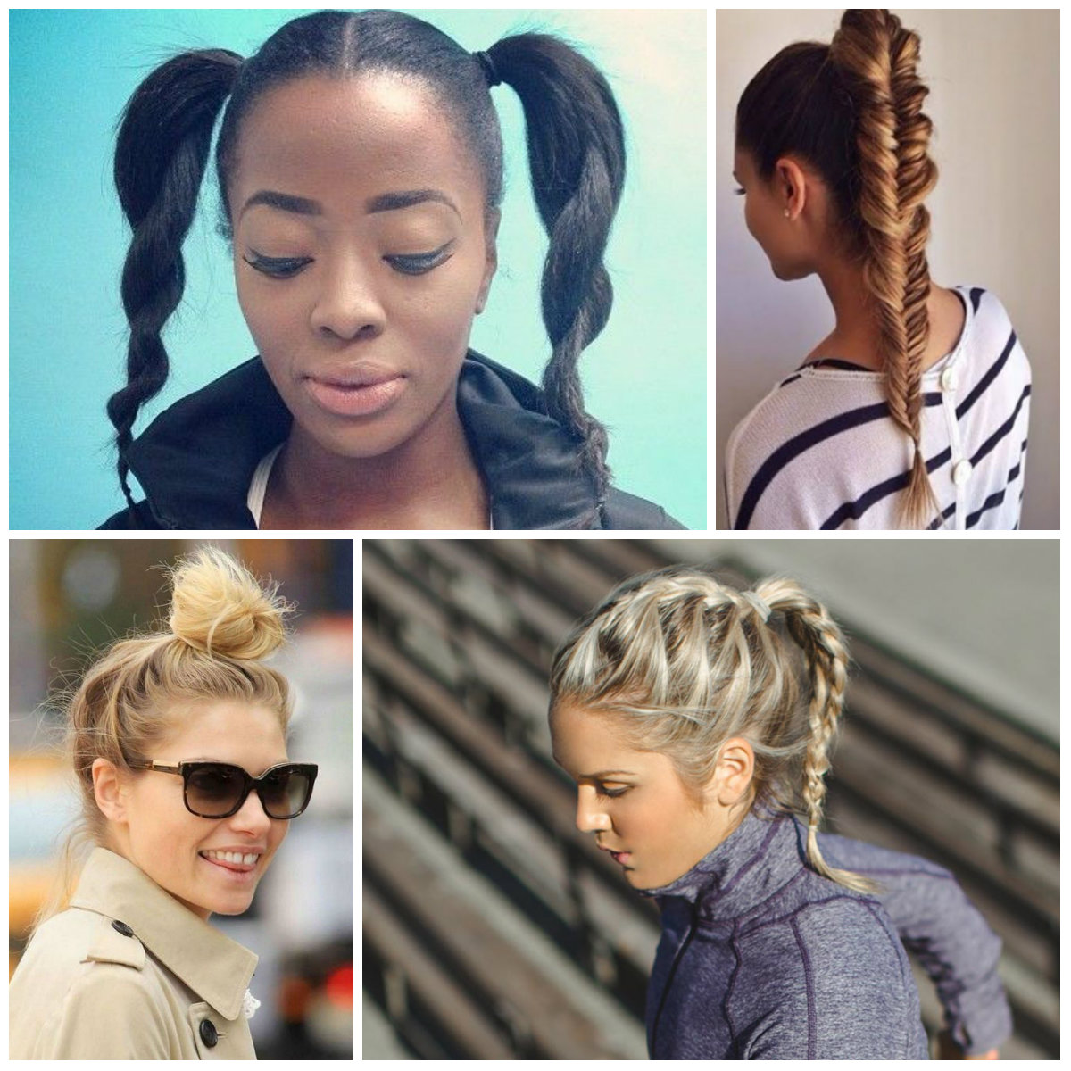 Easy Workout Hairstyles for 2020
