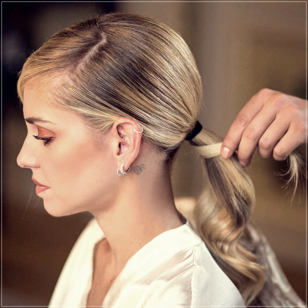 Chiara Ferragni Hairstyles and Hair Look Spring Summer 2020