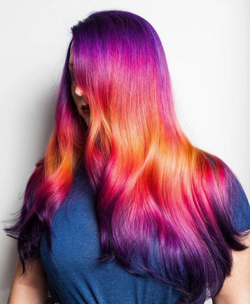 Candy Colored Hair Ideas 2020