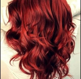 hairstyles  15 cold red hair colors for women 2020
